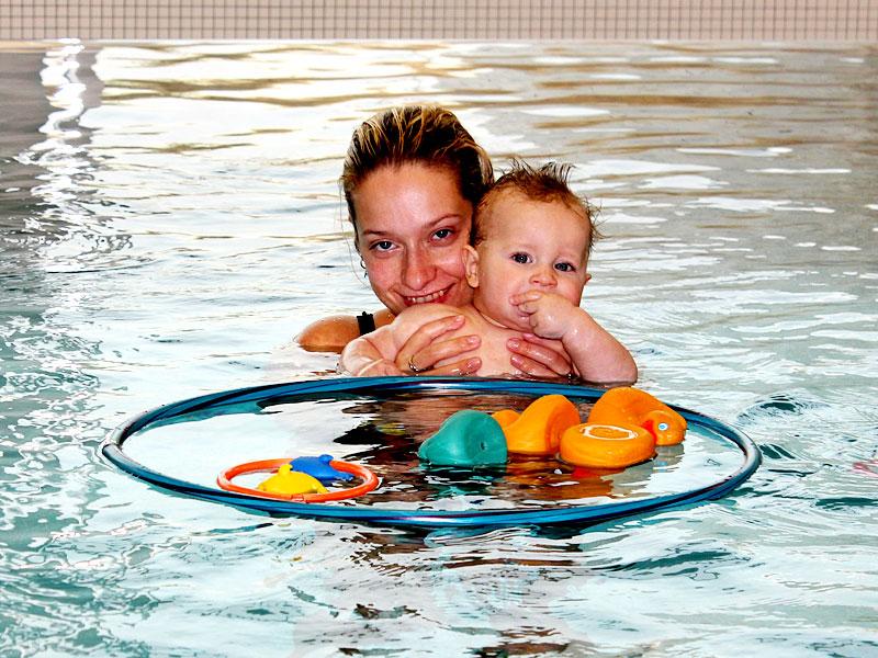 Wassertemperatur Babyschwimmen